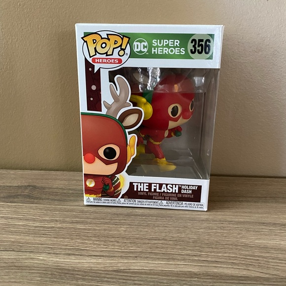 The Flash As Holiday Dash Funko